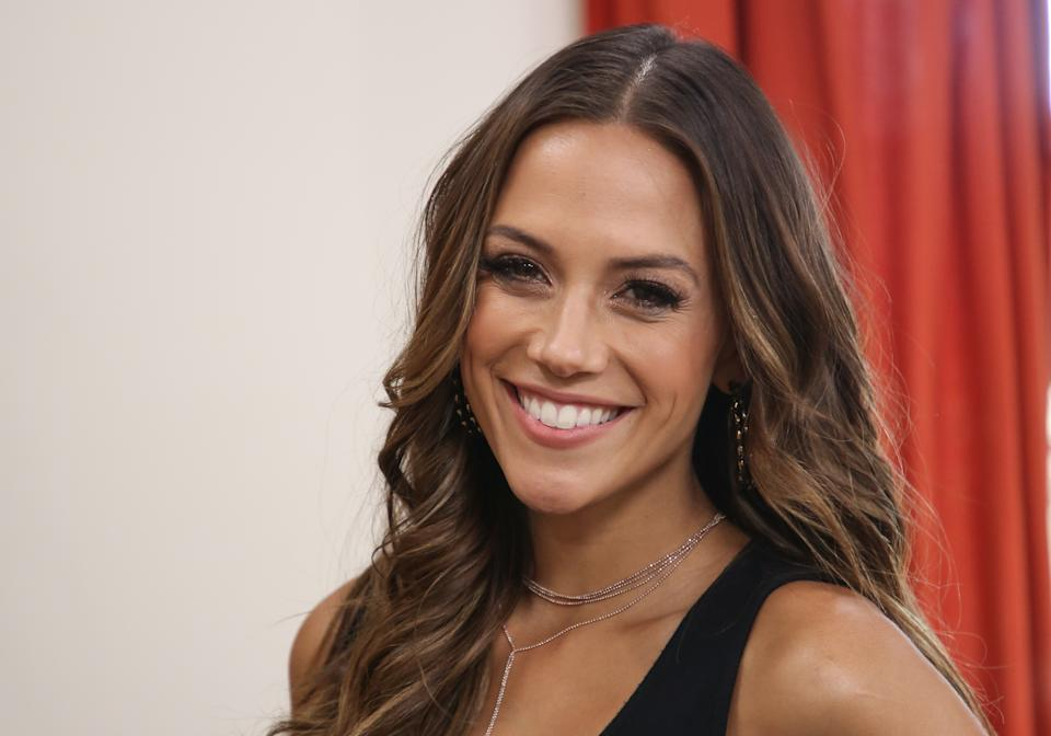 Jana Kramer shared a photo on Instagram of herself teary-eyed in the car. In the caption, she wrote about the difficulties of co-parenting. (Photo by Paul Archuleta/Getty Images)