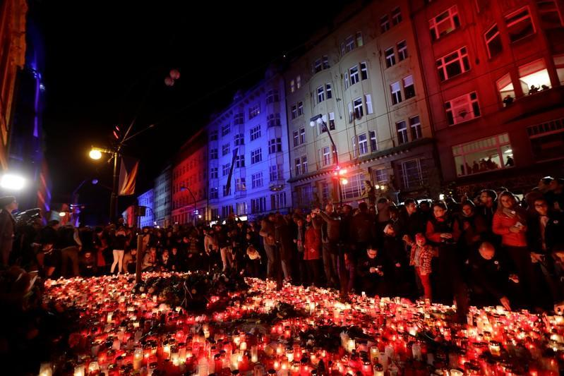 30th anniversary of the 1989 Velvet Revolution in Prague