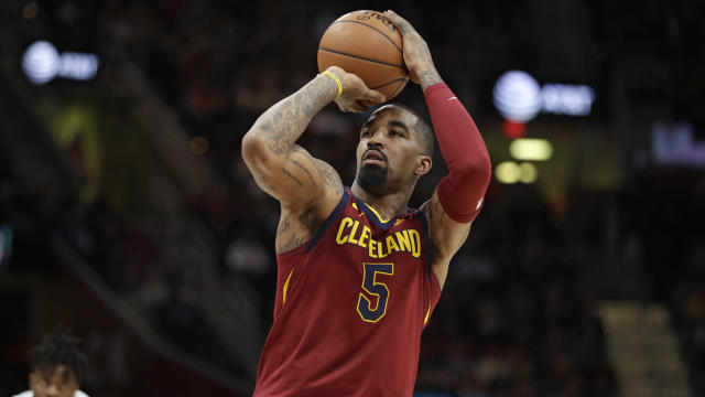 J.R. Smith will find himself out of the lineup Thursday. (AP Photo/Tony Dejak)