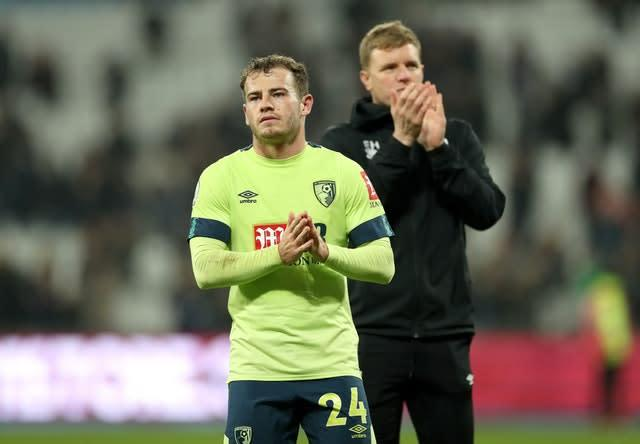 Ryan Fraser, left, will be a priority for manager Eddie Howe (Bradley Collyer/PA)