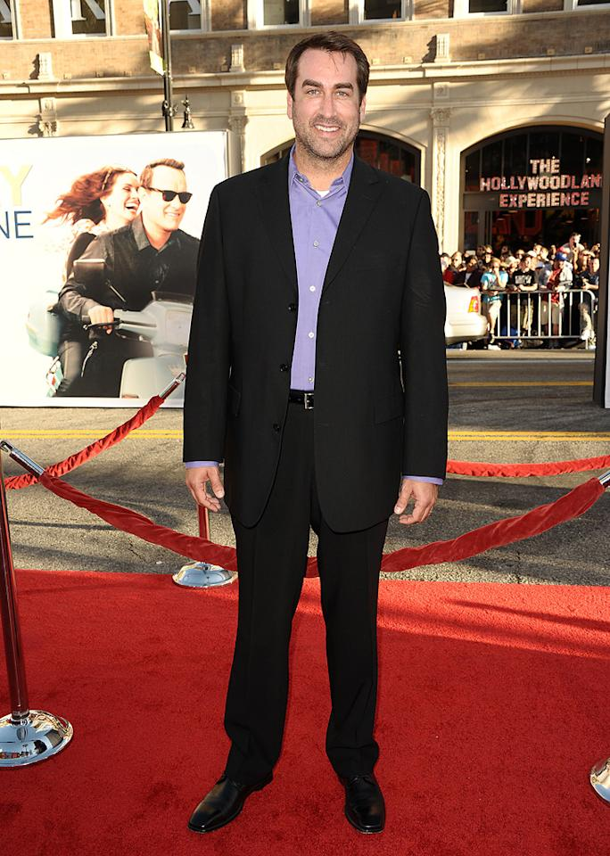 """<a href=""""http://movies.yahoo.com/movie/contributor/1808870276"""">Rob Riggle</a> at the Los Angeles premiere of <a href=""""http://movies.yahoo.com/movie/1810196533/info"""">Larry Crowne</a> on June 27, 2011."""