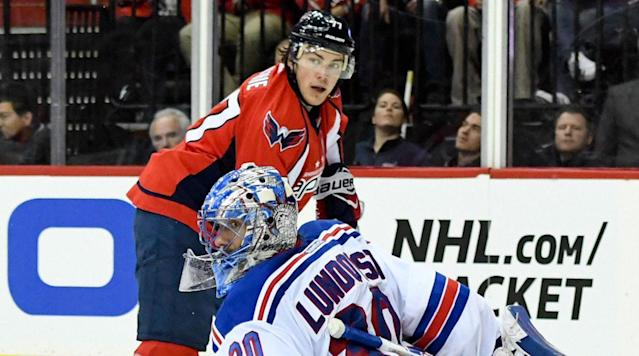 WASHINGTON (AP) T. J. Oshie can't help it when he's on the ice with Alex Ovechkin.