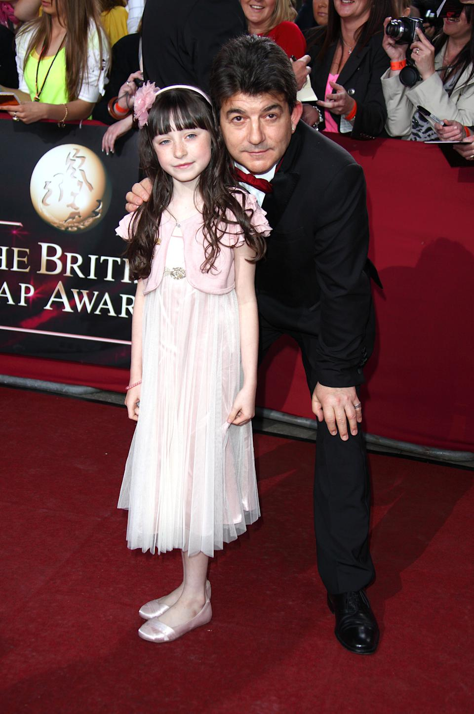 John Altman and Molly Conlin attend the British Soap Awards at BBC Television Centre on May 9, 2009 in London, England.  (Photo by Mike Marsland/WireImage)