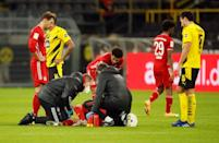 Joshua Kimmich's knee injury marred Bayern Munich's win over Borussia Dortmund in the 'Klassiker'
