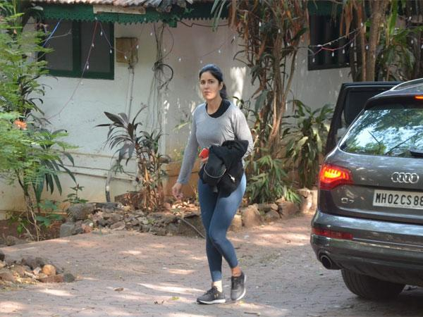 Exclusive Picture: Katrina Kaif Spotted At A Dance Rehearsal