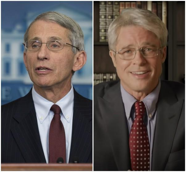 Dr. Fauci Reacts To Brad Pitt's Hilarious 'SNL' Portrayal: 'He Did Great'