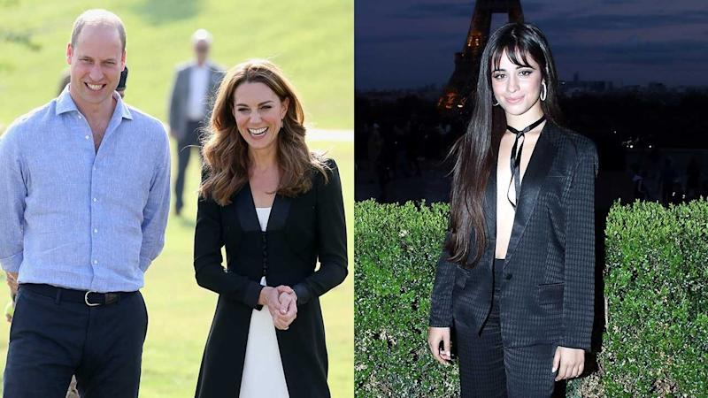 Prince William and Kate Middleton Pose With Camila Cabello at Kensington Palace