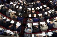 Syria's parliament convenes to discuss upcoming presidential election in Damascus