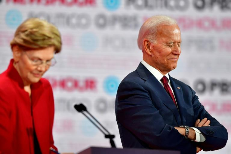 Former vice president and presidential nomination frontrunner Joe Biden came in third at best in Democratic campaign fundraising in the last three months of 2019, while Senator Elizabeth Warren had yet to announce her numbers
