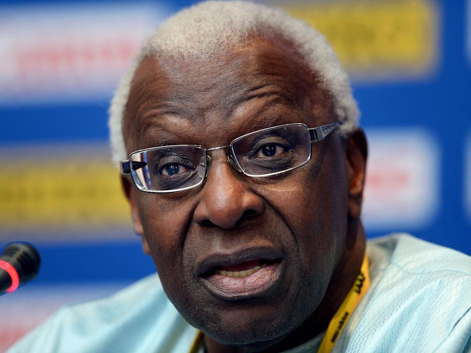 Lamine Diack, the former IAAF president (Getty Images)