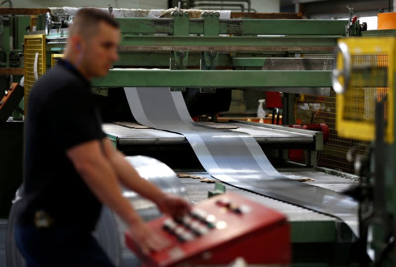 UK factory output grows at fastest rate since 2017: PMI