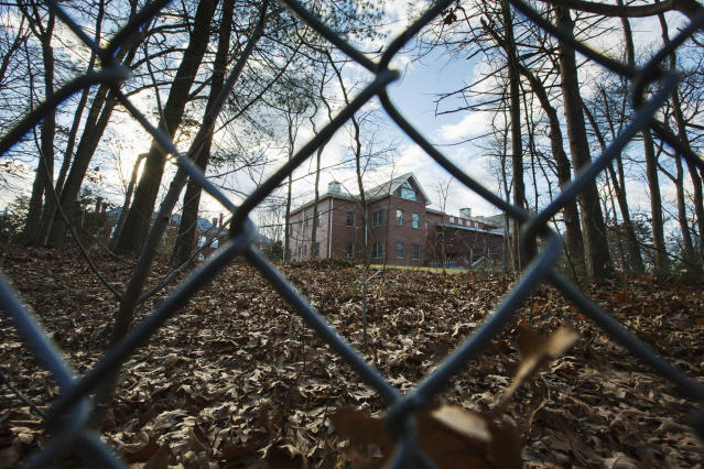 An estate in Oyster Bay, N.Y., one of two Russian diplomatic compounds seized by the Obama administration in late 2016 as punishment for Moscow's alleged interference in the U.S. election. (Photo: Alexander F. Yuan/AP)