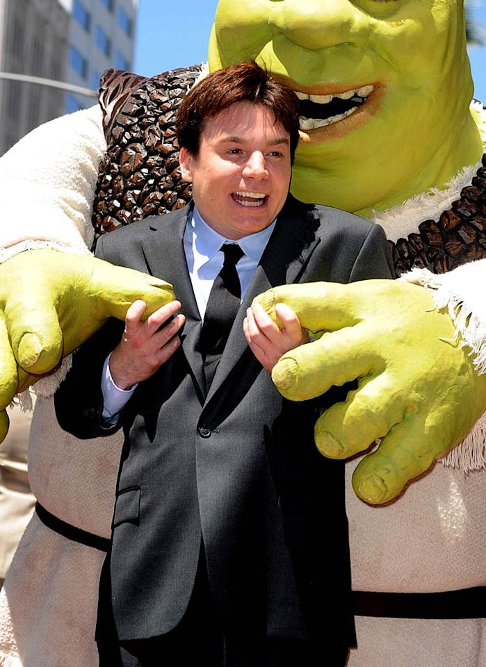"""Mike Myers turns 48 Frazer Harrison/<a href=""""http://www.gettyimages.com/"""" target=""""new"""">GettyImages.com</a> - May 20, 2010"""