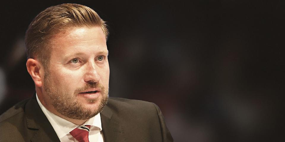 Richard Arnold, Group Managing Director, Manchester United. Photo: Manchester United