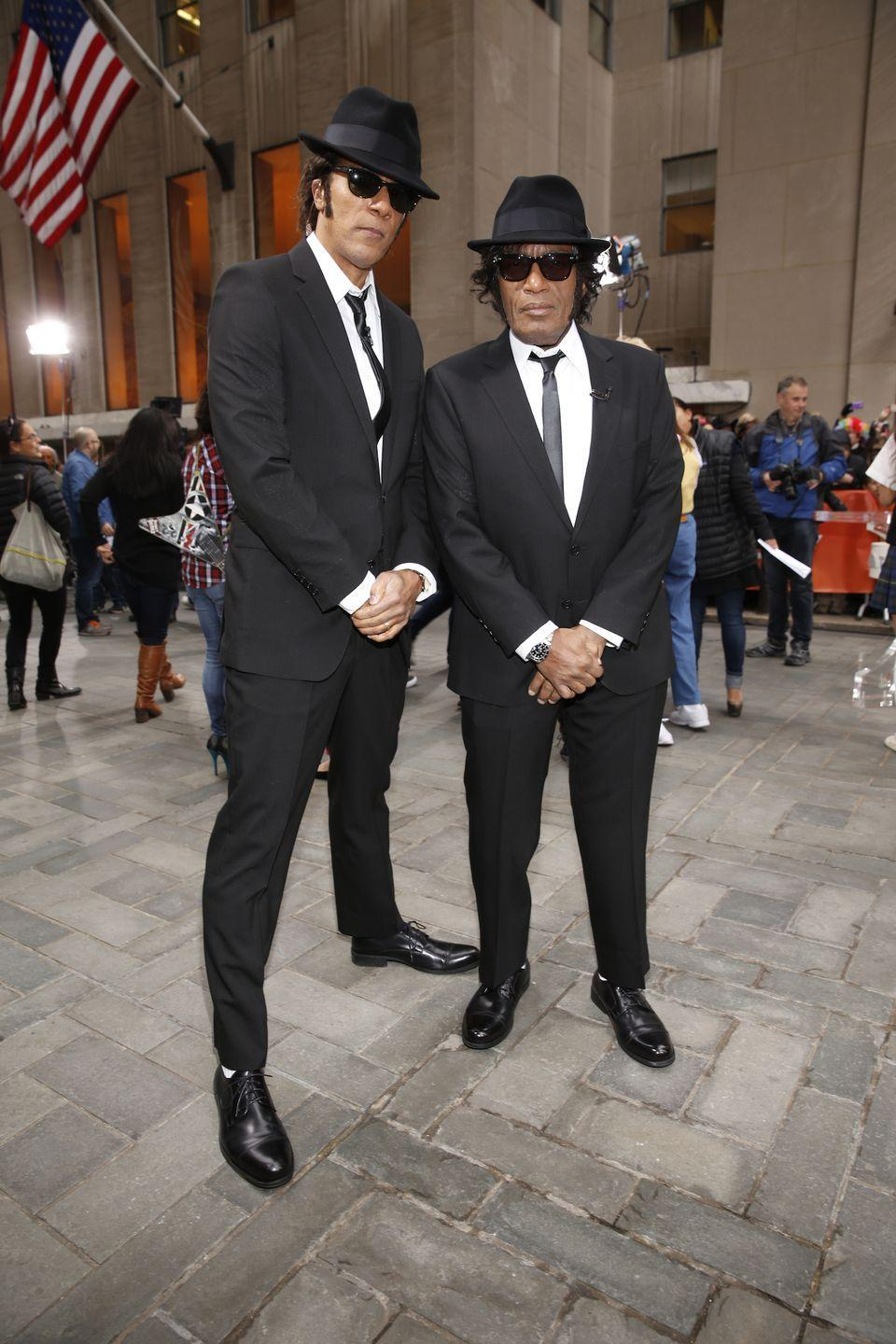 <p>In 2014, Lester Holt and Al joined in on the fun as the Blues Brothers: Jake and Elwood.</p>