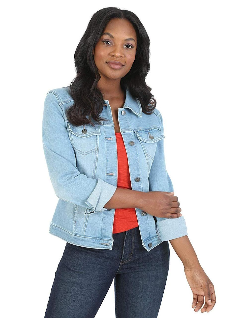 Riders by Lee Indigo Women's Stretch Denim Jacket (Photo: Amazon)
