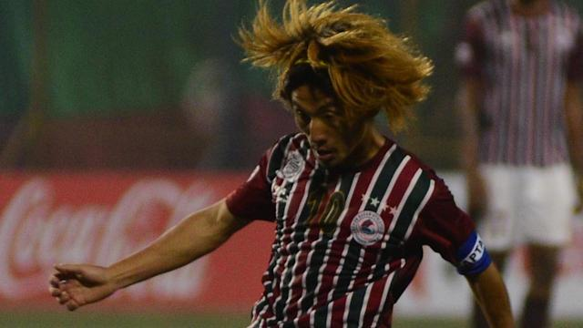 A clinical double from Mohun Bagan skipper Yusa Katsumi put the Bengaluru side to the sword in Kolkata..