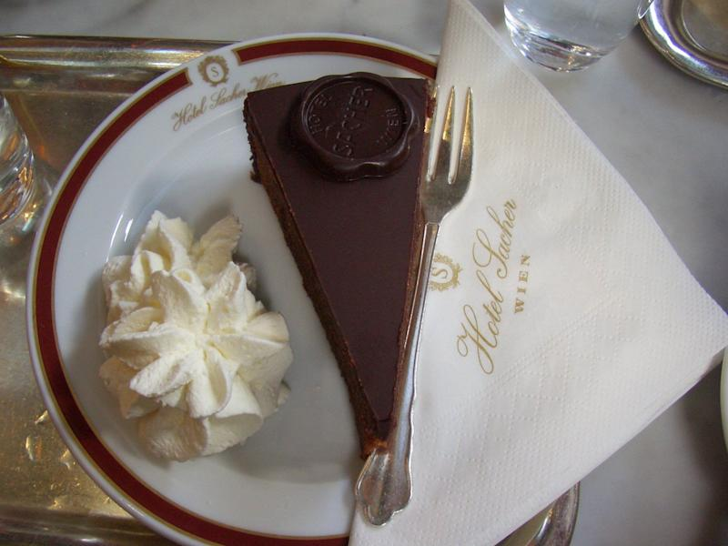 """Vienna boasts a rich cultural history that includes the invention of&nbsp;Sachertorte, a delicious chocolate cake that's become an Austrian staple. You can sample this sweet treat at a variety of spots, including <a href=""""https://www.demel.com/en/demel/"""" target=""""_blank"""" rel=""""noopener noreferrer"""">Demel</a> pastry shop and <a href=""""https://www.sacher.com/en/original-sacher-torte/"""" target=""""_blank"""" rel=""""noopener noreferrer"""">Hotel Sacher</a>.&nbsp;&nbsp;"""