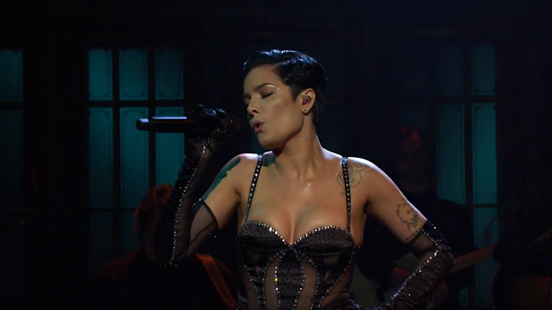 Halsey Slays 'Saturday Night Live' Stage With Two Memorable Performances and a Sexy Sketch