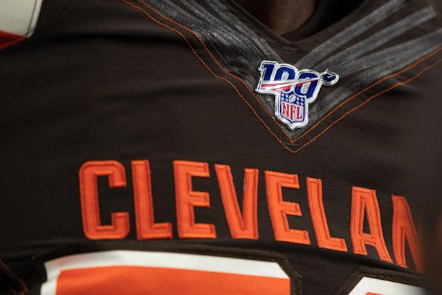 The Cleveland Browns are expected to do well, but Super Bowl talk is premature. (Getty Images)