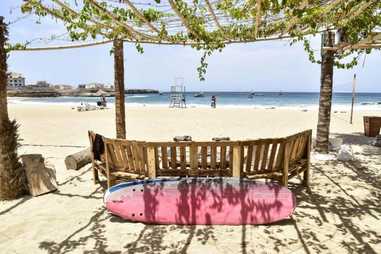 Tourism numbers plummeted in Cape Verde last year after Covid restrictions took hold (AFP/Seyllou)