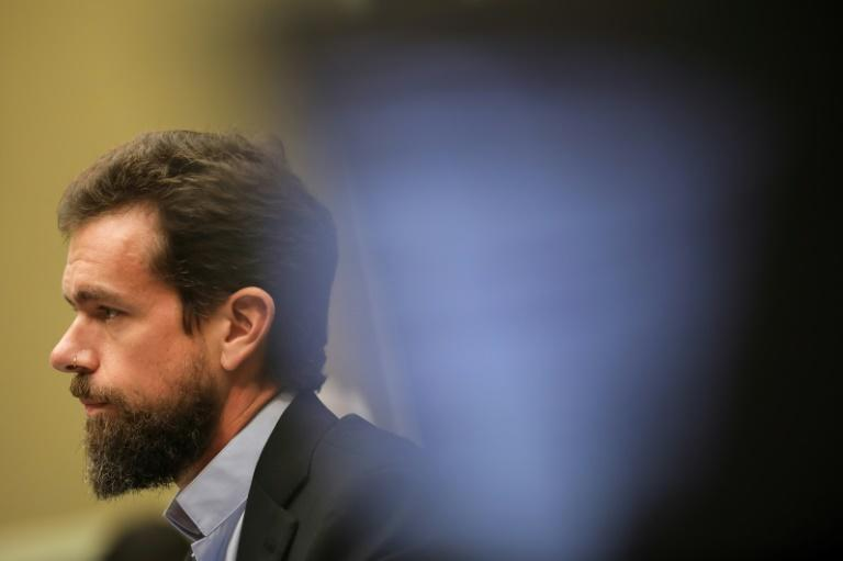 Twitter chief executive officer Jack Dorsey, seen at a 2018 congressional hearing, cautioned lawmakers on reforming a law which shields online services from liability protection