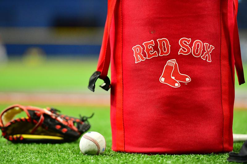 The Red Sox have been accused of using their video room to steal signs during the 2018 season. (Photo by Julio Aguilar/Getty Images)