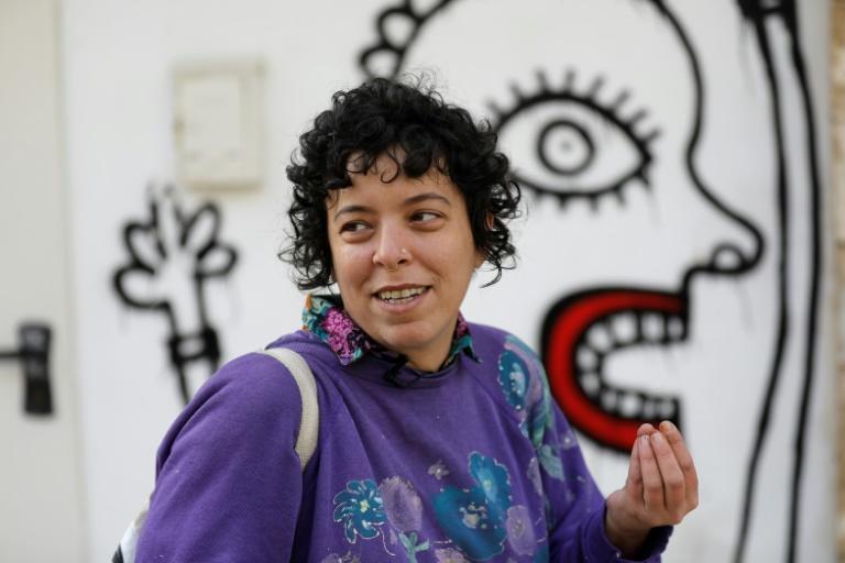 Twenty years ago, street artist Sara Erenthal was part of an extreme ultra-Orthodox Jewish group. Now she is New York-based, having left religious life behind, and has been named among 10 street artists to watch by Artnet website