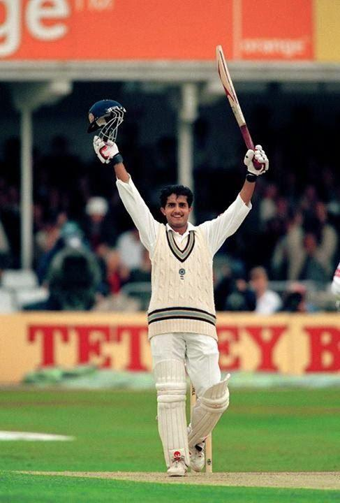 Sourav Ganguly--the man responsible for the fearless Indian team