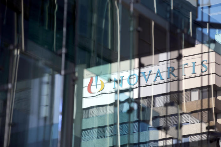 IMAGE: Novartis campus in Switzerland (Stefan Wermuth / Bloomberg via Getty Images file)
