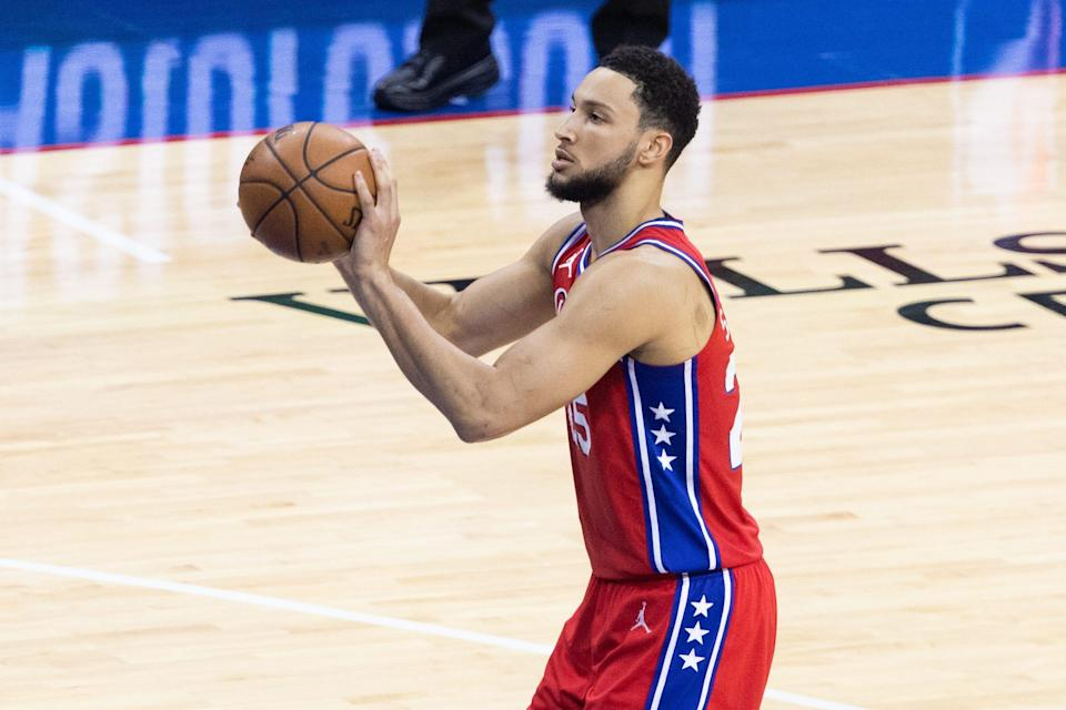Ben Simmons was essentially a non-factor offensively in the postseason, especially during Philadelphia's second-round playoff series against Atlanta.