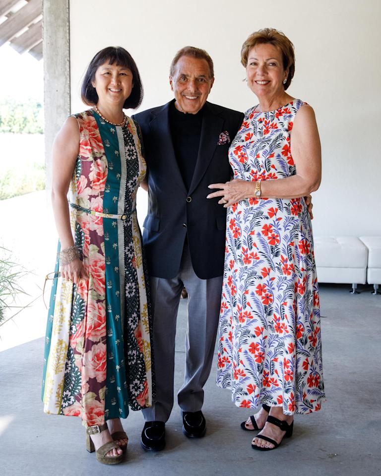 <p>On July 13, the Parrish Art Museum celebrated its annual Midsummer Party with nearly 450 artists, art collectors, curators, philanthropists, and business leaders from the Hamptons and beyond. This year, the Museum honored long-time supporters Louise and Leonard Riggio, and artist Maya Lin, who famously designed the Vietnam Veterans Memorial at age 21. Guests enjoyed the art exhibits, dinner and dancing, and a live auction, which raised $1 million to benefit the museum's activities.</p>