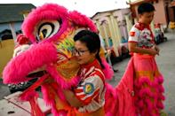 Lion dances are physically demanding, requiring agility and power to excel at the traditional sport