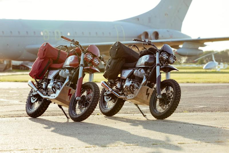 The Mally Royale (Image source: Royal Enfield)