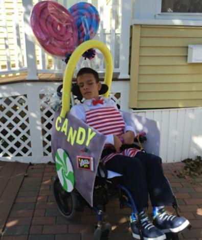 """<p>Who can take a sunrise and sprinkle it with dew? The Candy Man can! And any kid would look sweet with a costume covered in colorful treats.</p><p><em><a href=""""https://www.wonderbaby.org/articles/candy-man-wheelchair-costume"""" rel=""""nofollow noopener"""" target=""""_blank"""" data-ylk=""""slk:See more at WonderBaby »"""" class=""""link rapid-noclick-resp"""">See more at WonderBaby »</a></em></p>"""