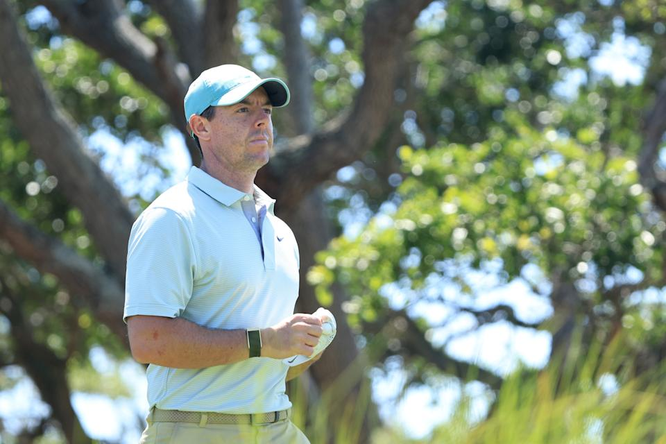 All eyes will be on Rory McIlroy this weekend. (Sam Greenwood/Getty Images)
