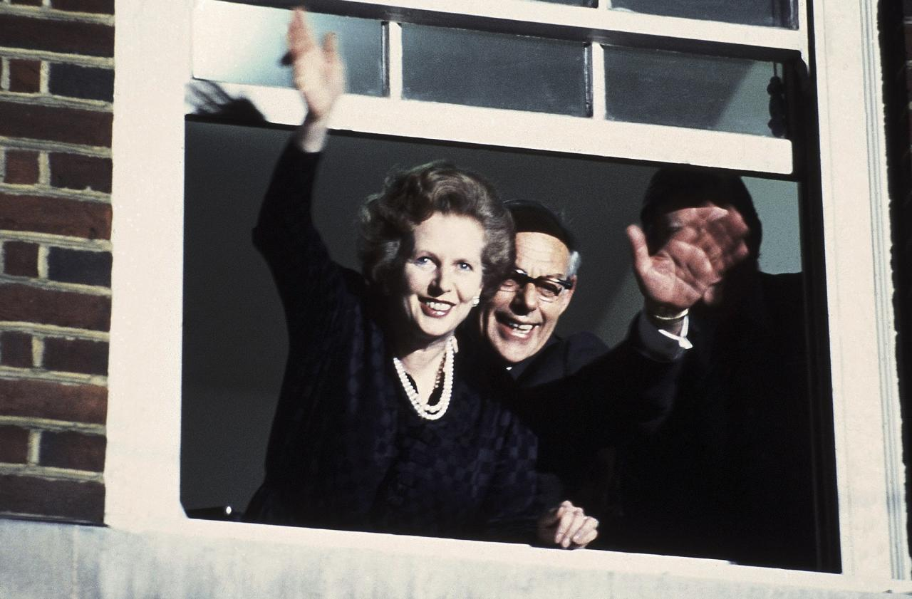 """Sir Denis Thatcher, late husband of first female British Prime Minister Margaret Thatcher (1979-1990), was a multi-millionaire and director of Castrol oil prior to his wife taking office.  After they moved to 10 Downing Street, he was content to """"stay in the background,"""" and <a href=""""https://www.theguardian.com/uk/2003/jun/26/obituaries.politics"""">according to The Guardian, he was """"once famously described as 'a world-class chauvinist married to the supreme symbol of female equality.'"""" </a> He provided invaluable support and comfort to her in <a href=""""http://www.dailymail.co.uk/news/article-186299/Denis-Thatcher-dies-aged-88.html"""">the stressful role</a>."""