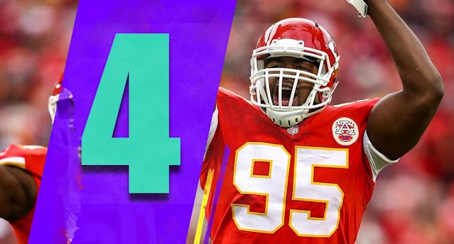 <p>Not that the Raiders' offense is great, but the Chiefs defense looked very good in a 35-3 Week 17 win. If the Chiefs get anywhere near that level of performance by the defense in the playoffs, they'll be just fine. (Chris Jones) </p>