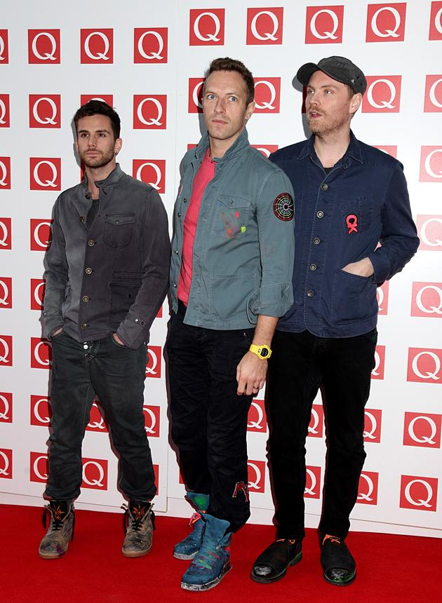 Coldplay were rocking the military boots. We also think Chris Martin was looking rather dishy.