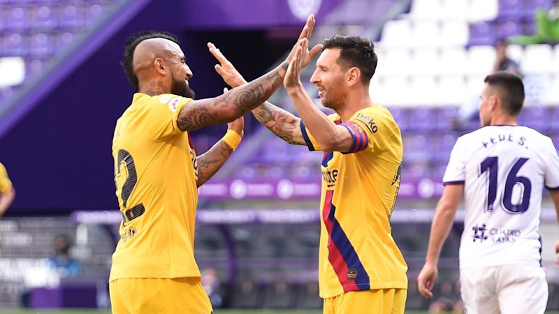Barcelona still hopeful of catching Real Madrid in title race - Vidal