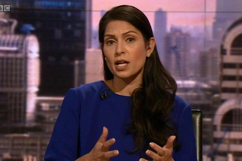 Priti Patel on Marr this morning