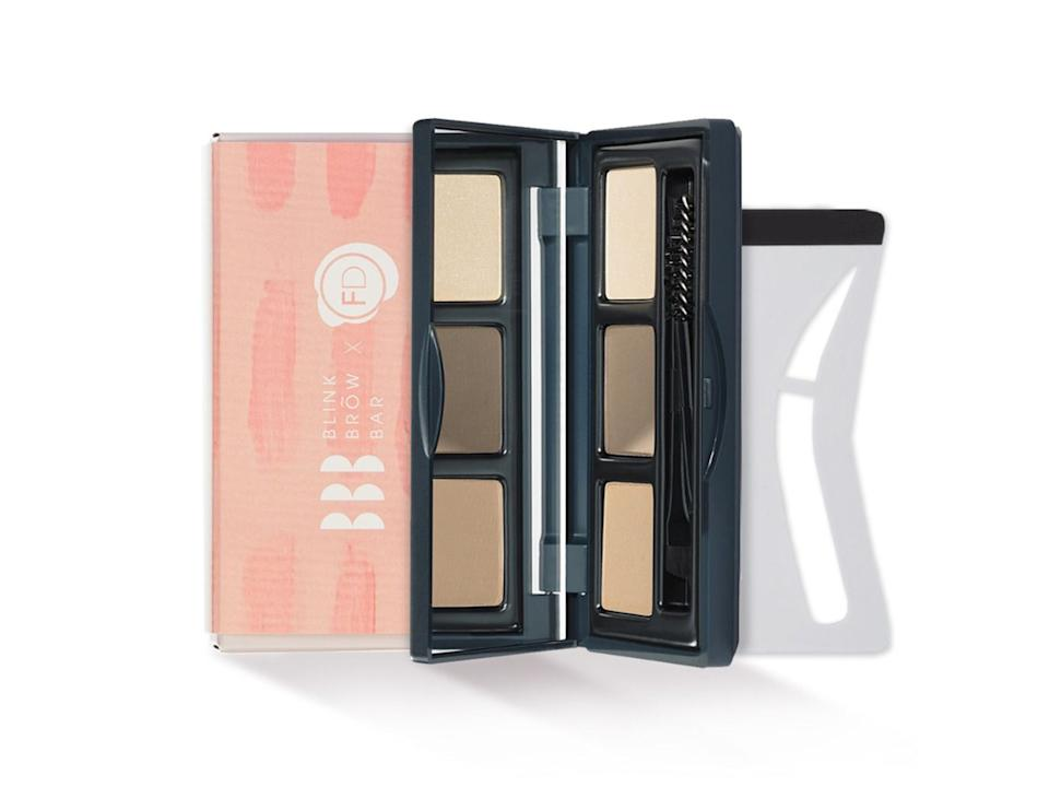 Use this palette to build volume, add shape and definition in one easy sweepBlink Brow London