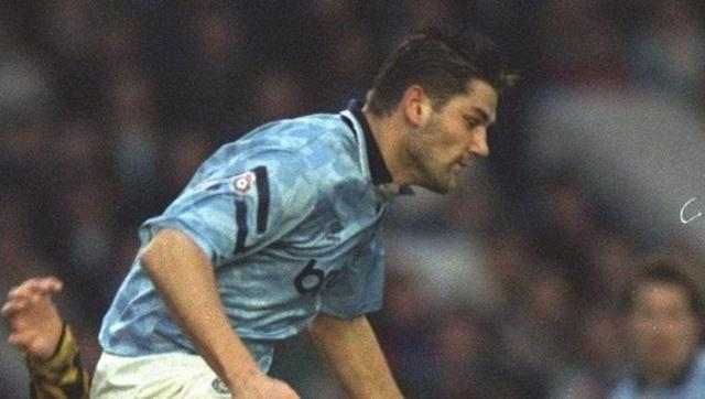 <p><strong>17th August 1992 vs Queens Park Rangers</strong></p> <br><p>David White was part of Manchester City's famous 1986 FA Youth Cup winning side alongside Paul Lake, Ian Brightwell and Andy Hinchcliffe, becoming the club's top striker by the time the old First Division became the new Premier League.</p> <br><p>The Urmston-born star netted the only goal in an opening game draw with QPR, one of 19 he would score in the league over the course of the campaign.</p>