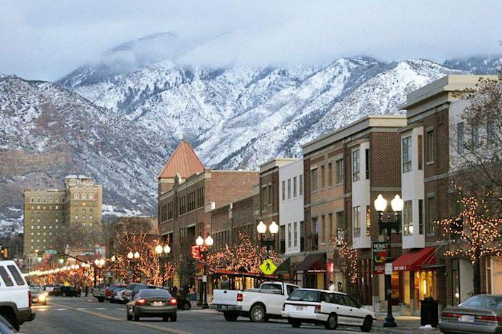 """<p><strong>Established in:</strong> 1851</p><p>According to Ogden's official website, it was once a <a href=""""https://www.visitogden.com/about-ogden/ogden-history/"""" rel=""""nofollow noopener"""" target=""""_blank"""" data-ylk=""""slk:&quot;lawless frontier town.&quot;"""" class=""""link rapid-noclick-resp"""">""""lawless frontier town.""""</a> It dates back to 400 AD, when the area was home to the Great Salt Lake Fremont Native Americans, and then the Northern Shoshone and Goshute tribes. When European settlers came, it was originally named Fort Buenavetura. In 1847, Mormon settlers bought it, and it was incorporated as a city in 1851. </p>"""