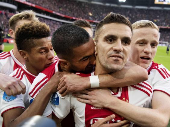 Dusan Tadic has excelled for Ajax this season (AFP/Getty)