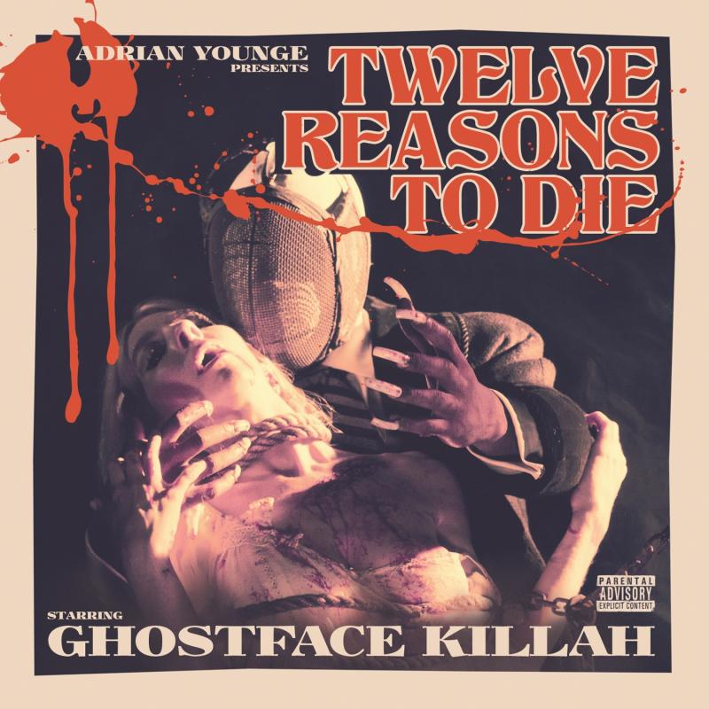 """This CD cover image released by Soul Temple Entertainment shows """"Twelve Reasons to Die,"""" by Ghostface Killah and Adrian Younge. (AP Photo/Soul Temple Entertainment)"""
