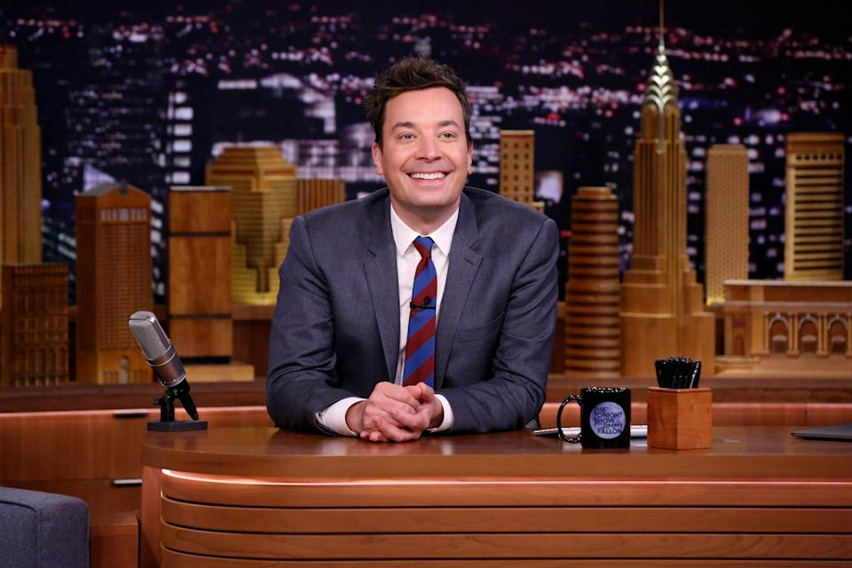 """On Thursday, Jimmy Fallon steps away from """"The Tonight Show"""" desk for a special late-night episode highlighting New York's five boroughs."""