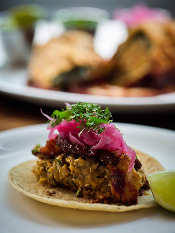 No effort has been spared in creating an authentic environment at Soho's new taqueria (El Pastor)