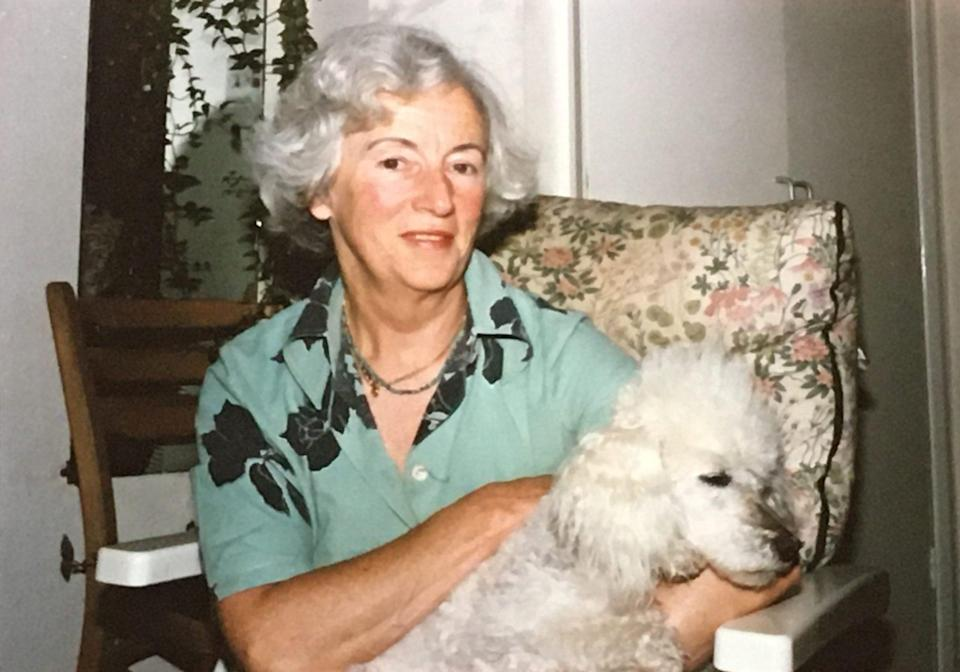 Doreen Pugh: in later life she lived in Herstmonceux, and volunteered at Chartwell when it was opened by the National Trust - Courtesy of Monty Wates