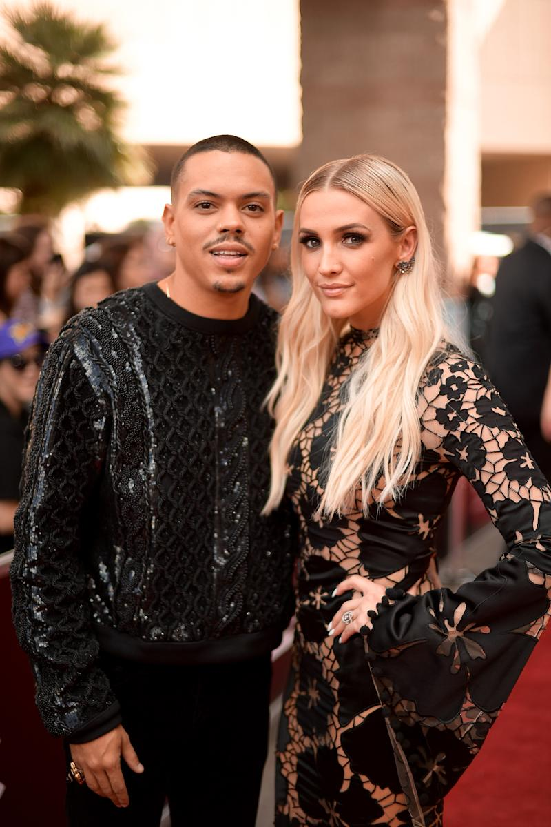Evan Ross and Ashlee Simpson Ross